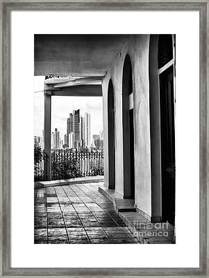 Viejo Y Nuevo Framed Print by John Rizzuto