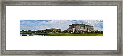 Viera Hospital Framed Print by Mike Fitzgerald