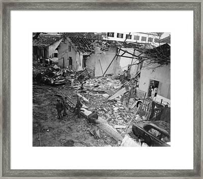 Vietnam War, At 555 P.m. On December Framed Print by Everett