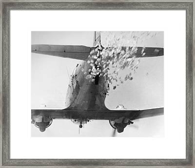 Vietnam War: Leaflets Framed Print by Granger