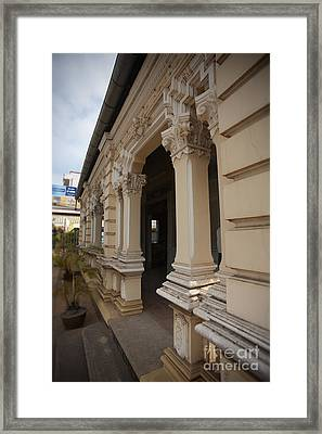 Vietnamese French Home Framed Print