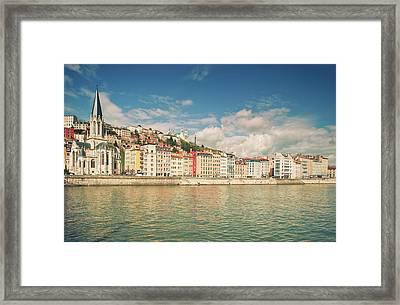 Vieux Lyon Framed Print by Philipp Klinger