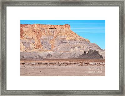 Framed Print featuring the photograph View Along Rt 12 In Utah by Bob and Nancy Kendrick