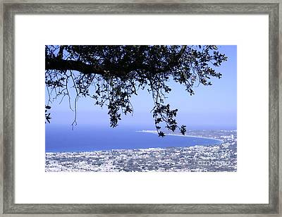 View Framed Print by Barry Boom