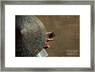 View From Above Framed Print by Bob Christopher