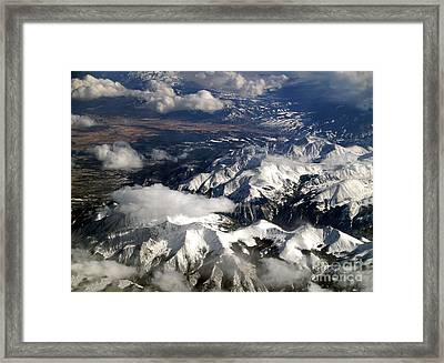 View From Above II Framed Print by Patricia Griffin Brett