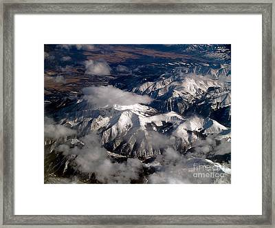 View From Above IIi Framed Print