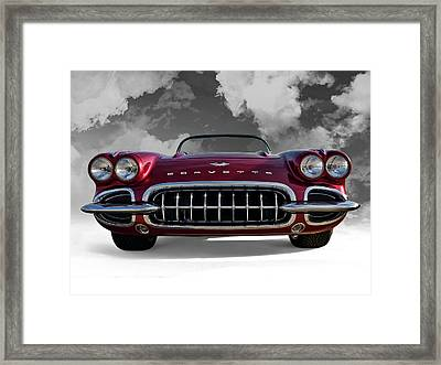 View From Cloud 9 Framed Print