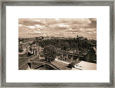 View From The Castle Framed Print by RicardMN Photography