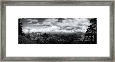 View From The James Taylor Seat  Panorama  Framed Print