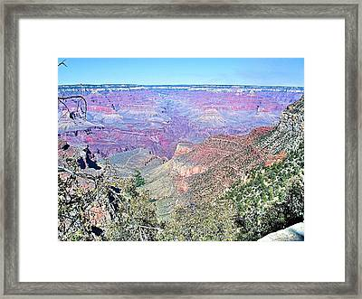 View From The South Rim Framed Print