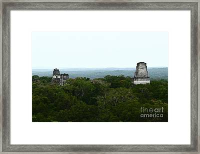 View From The Top Of The World Framed Print