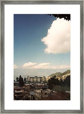 Framed Print featuring the photograph View From The Window by Fotosas Photography