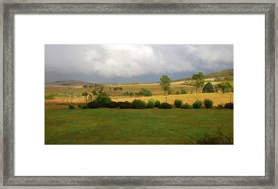 View From Verandah 1 Framed Print