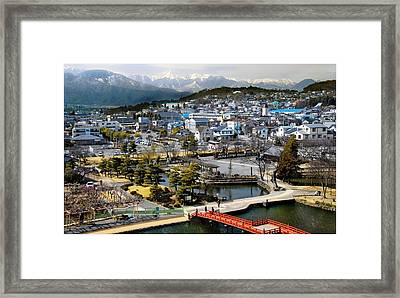 View Fromthe Top Framed Print