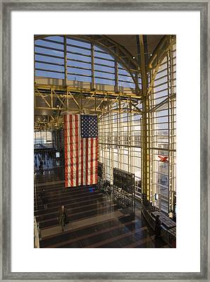 View Inside Ronald Reagan National Framed Print