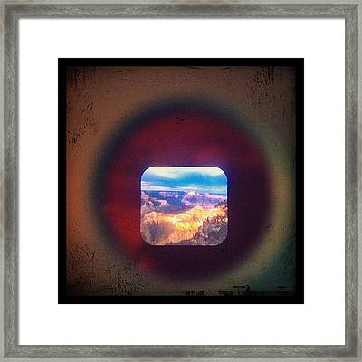 View-master Grand Canyon Yavapal Point Framed Print