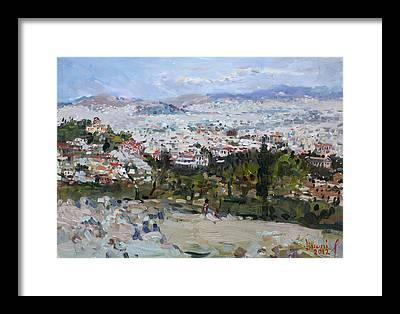Acropolis Framed Prints