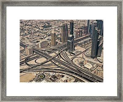 View Of Burj Khalifa Framed Print