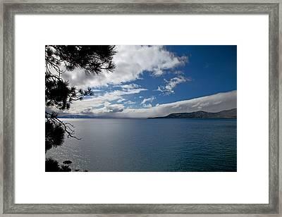 View Of Lake Tahoe Framed Print