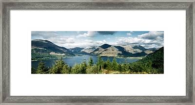 View Of Loch Alsh Framed Print