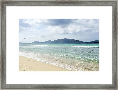 View Of Long Bay Beach Framed Print by Driendl Group