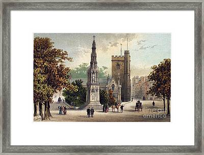 View Of Oxford, C1885 Framed Print by Granger