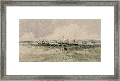 View Of Sheerness Framed Print