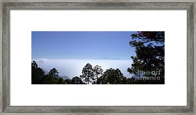 View Of Tenerife Framed Print by Andrew Middleton