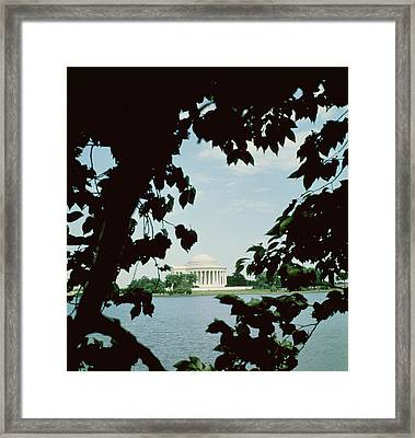 View Of The Jefferson Memorial Framed Print by John Russell Pope