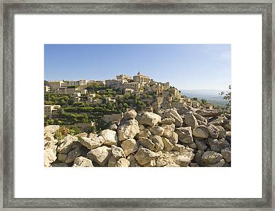 View Of The Village Framed Print