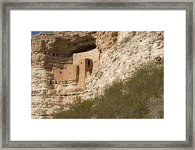 View Of This Five-story, Twenty-room Framed Print by Charles Kogod