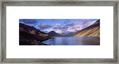View Of Wastewater, Located In The Lake Framed Print by Axiom Photographic