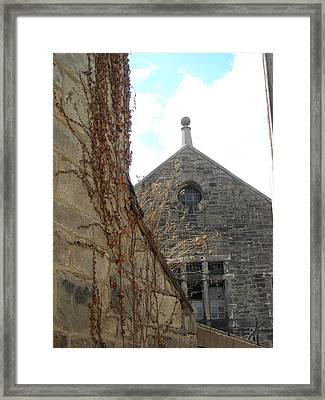 View To Another Time Framed Print
