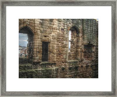 View To Another World Framed Print by Cindy Nunn