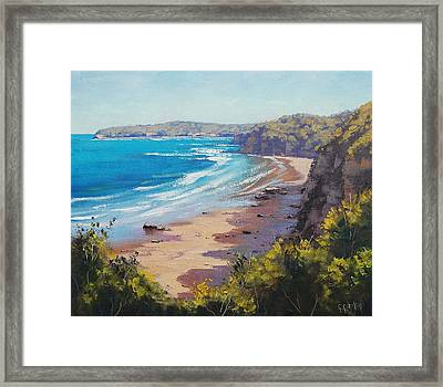 View To Norah Head Framed Print