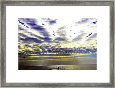 View-west End Dr. Framed Print