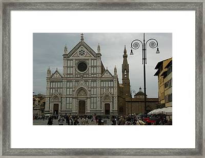 View2 Framed Print