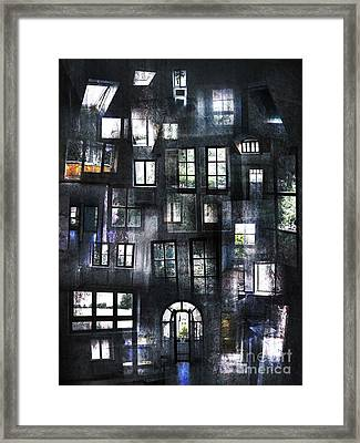 Views From Insides Framed Print by Florin Birjoveanu