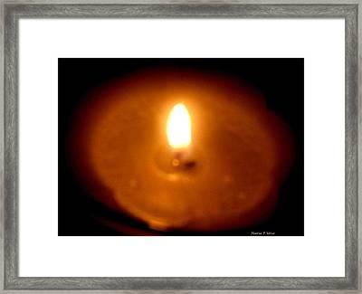 Vigil Framed Print by Maria Urso
