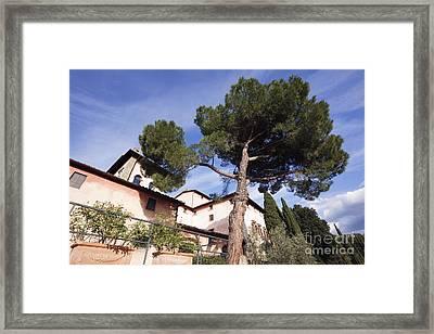 Vignamaggio Winery Framed Print by Jeremy Woodhouse