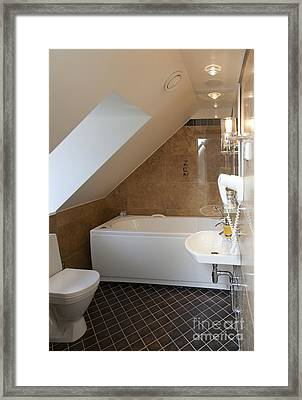 Vihula Manor Hotel Bathroom Framed Print