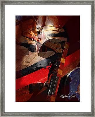 Viking War Portal Of Time Framed Print by Stephen Paul West