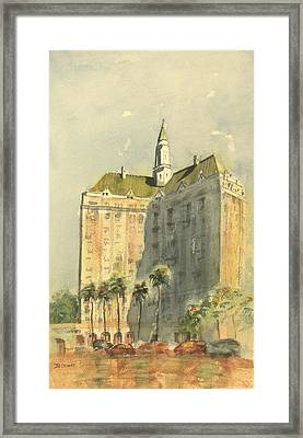 Villa Riviera Another View Framed Print