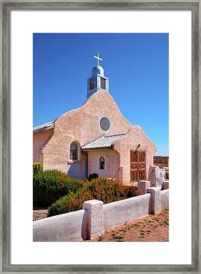 Village Adobe Church IIi Framed Print