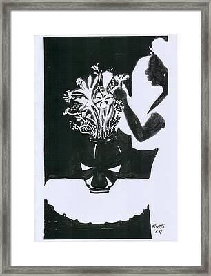 Village Dancers Framed Print by Rhetta Hughes