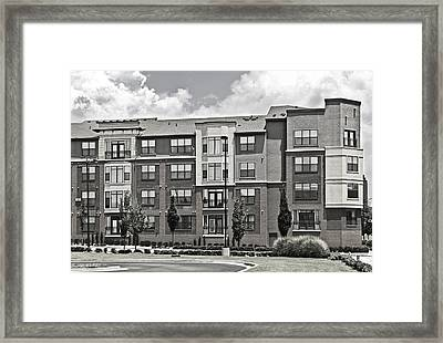 Village Street Framed Print by Susan Leggett