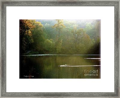 Ville D'avray   Framed Print by Mariana Costa Weldon