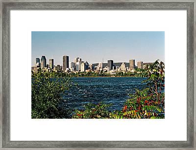 Framed Print featuring the photograph Ville De Montreal by Juergen Weiss