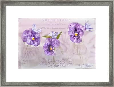 Ville De Paris Framed Print by Sandra Rossouw